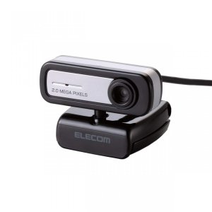 エレコム 200万画素Webカメラ UCAM-C0220FB 1/5インチCMOSセンサ マイク内蔵 コンパクトタイプ ブラック|sellsta