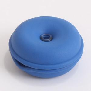 ケーブルタートル ジャイアントサイズ (ブルー) コードぐるぐる収納|semagasin