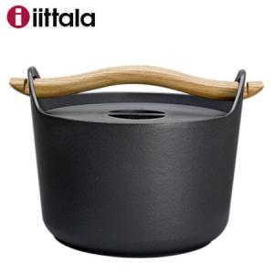 【SALE】Iittala イッタラ Sarpaneva サルパネヴァ キャセロール3L / 鋳物鍋 IH対応 北欧|semagasin