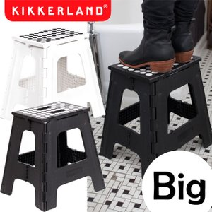 【送料無料】Kikkerland キッカーランド Big Ez Step Up Rhino ビッグイージーステップアップ ライノ 選べる2色 折りたたみ踏み台 脚立 折り畳み 踏み台|semagasin
