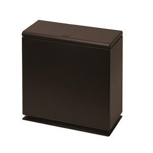 ideaco(イデアコ) TUBELOR kitchen flap(チューブラーキッチンフラップ) ブラウン (ゴミ箱)|semagasin