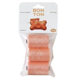 UNITED PETS(ユナイテッドペッツ)Bon Ton(ボントン)専用取替用袋(30回分) オレンジ(AR) エチケット袋  犬猫ペット用品|semagasin