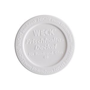 WECK(ウェック) プラスティックカバー S ホワイト WE-007 semagasin