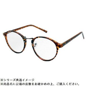 RESA レサ 老眼鏡に見えない 40代からのスマホ老眼鏡 丸メガネタイプ ブラウンデミ RS-09-1めがね リーディンググラス メガネ|semins-zakaa