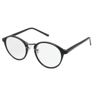 RESA レサ 老眼鏡に見えない 40代からのスマホ老眼鏡 丸メガネタイプ ブラック RS-09-2ブルーライトカット おしゃれ カジュアル|semins-zakaa