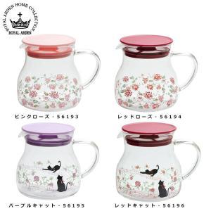 ロイヤルアーデン 耐熱ガラス ティーポット便利 かわいい 紅茶|semins-zakaa