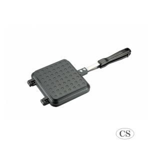 予約販売品 l CAPTAIN STAG キャプテンスタッグ キャストアルミ ホットサンドトースター(IH対応) UG-3024 軽い オール熱源 アウトドア 熱伝導 アウトドア 軽量|semins-zakaa