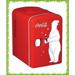 コカコーラデザインミニ冷蔵庫 KWC-4 Coca-Cola Personal 6-Can【新デザイン】 輸入品|sena