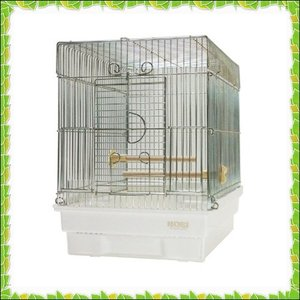 商品紹介           HOEI「21手のり」は窓が手前に大きく開き、小鳥が出入りしやすい手の...