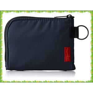 [ノーマディック] 財布 小銭入れ L字型コンパクト財布 SA-08 紺