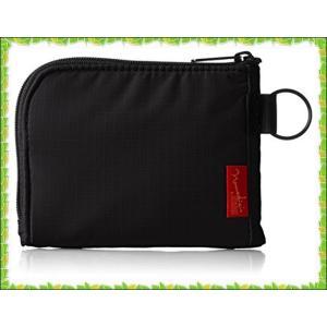 [ノーマディック] 財布 小銭入れ L字型コンパクト財布 SA-08 黒