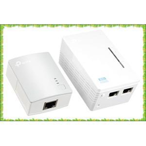 TP-Link WiFi 中継機 PLCアダプター TL-WPA4220 KIT 11n 300Mb...
