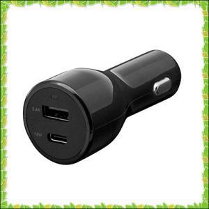 オウルテック Power Delivery対応 USB車載充電器 USB Type-Aポート×1 U...