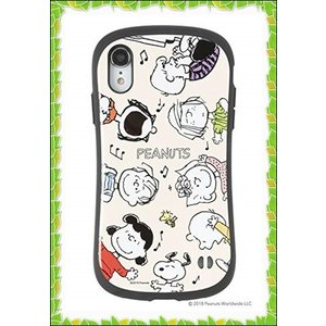 iFace First Class スヌーピー PEANUTS iPhone XR ケース [ダンス...