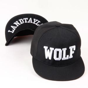 キャップ ローキャップ 帽子 スナップバック キャップ WOLF レディース キャップ メンズ キャップ ローキャップ ベースボールキャップ|senastyle