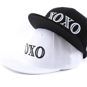 キャップ ローキャップ 帽子 スナップバック キャップ ローキャップ ベースボールキャップ XOXO レディース キャップ メンズ キャップ|senastyle