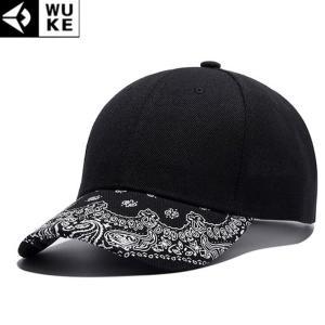 キャップ メンズ レディース ブラック 帽子 ベースボールキャップ 野球帽子 コットンキャップ シンプル スター b系 ペイズリー バンダナ ダンス|senastyle
