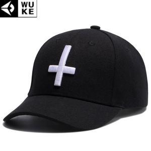 キャップ メンズ レディース ブラック 帽子 ベースボールキャップ 野球帽子 コットンキャップ シンプル 十字 クロス b系 ペイズリー柄 バンダナ柄|senastyle
