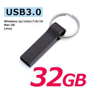 USBメモリー 小型 32GB 衝撃に強い 超高速USB3.0 USBフラッシュメモリー キャップレス 記録用メモリー USB2.0 USB1.1互換 senastyle