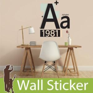 ウォールステッカー アルファベット 英文 英字  壁紙シール ウォールステッカー 木 ウォールステッカー 壁紙 リメイクシート|senastyle