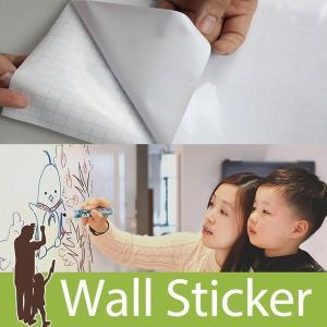 (お買い得セール50%OFF)ウォールステッカー ホワイトボードシート 壁に貼ってはがせるホワイトボ...
