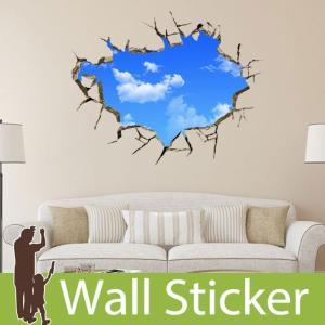 ウォールステッカー トリックアート だまし絵  壁紙シール ウォールステッカー 木 ウォールステッカー 壁紙 ウォールステッカー|senastyle