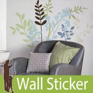 ウォールステッカー 花 (マルチブランチ) ルームメイツ RoomMates 壁紙シール 貼ってはがせる のりつき ウォールシール|senastyle