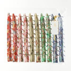 折り鶴シャワー7.5cm【友禅千代紙みやび】100羽|senbanotsuru|02