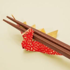 箸置き 7.5cm 10羽  7.5cm角友禅千代紙で折った鶴の箸置  長寿・繁栄 箸置き|senbanotsuru|02