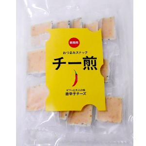 チー煎15枚(唐辛子味)|senbei-ya