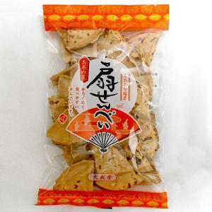 南部煎餅 扇せんべい(豆)|senbei-ya