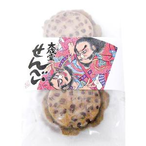 南部煎餅 粒豆せんべい6枚|senbei-ya