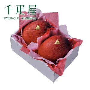 千疋屋 ギフト 宮崎産完熟マンゴー2玉入(2Lサイズ) 京橋千疋屋|senbikiya