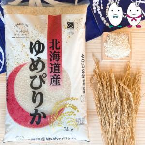 お米 5kg 北海道産ゆめぴりか 令和2年産|senda