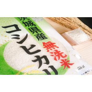 お米 BG無洗米 10kg(5kg×2) 茨城県産コシヒカリ 平成30年産|senda|03