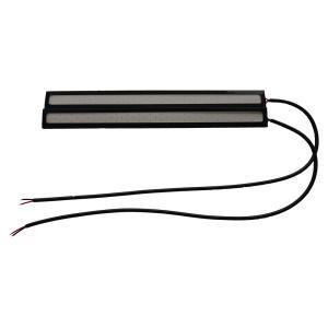 LED デイライト 薄さ4ミリ 12W 完全防水 強力 ムラ無し 全面発光 バーライトパネル ライト 17cm ブルー [M便 1/2]|sendaizuihouen-store