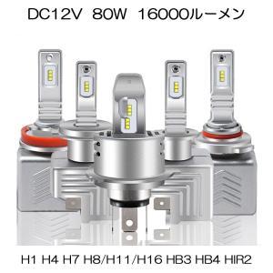 LEDヘッドライト H1 H4 H7 H8 H11 H16 HB3 HB4 HIR2 新車検対応 P...