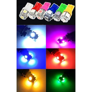 特売セール LEDバルブ T10 5連SMD3...の詳細画像1