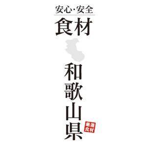 のぼり 安心・安全 食材 和歌山県 のぼり旗|sendenjapan