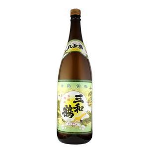 三和鶴 白麹 芋焼酎(三和酒造) 25度 1800ml|sendon