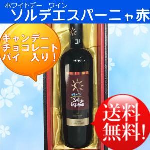 (ホワイトデー)(赤ワイン)ソルデエスパーニャ赤750ml(送料無料)|sendon