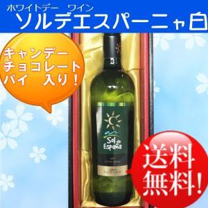 (ホワイトデー)(白ワイン)ソルデエスパーニャ白750ml(送料無料)|sendon