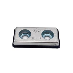 亜鉛板 KZC-B-1  20×70×150