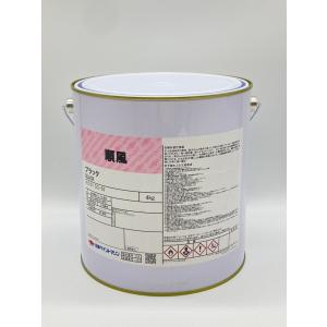 日本ペイント 順風 黒 4kg ブラック 船底塗料の商品画像