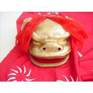 日本舞踊小道具 稽古用 連獅子 赤 子|senjyu