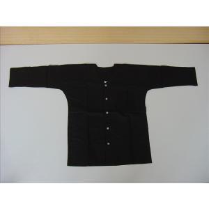 鯉口シャツ 黒 S お祭り衣装|senjyu