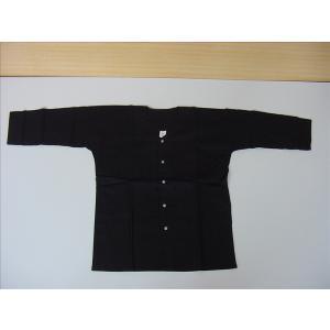 鯉口シャツ 黒 M お祭り衣装|senjyu