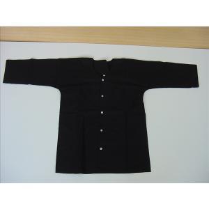 鯉口シャツ 黒 L お祭り衣装|senjyu