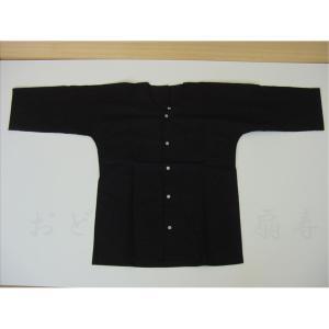 鯉口シャツ 黒 LL お祭り衣装|senjyu
