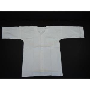 鯉口シャツ 白 3L お祭り衣装|senjyu